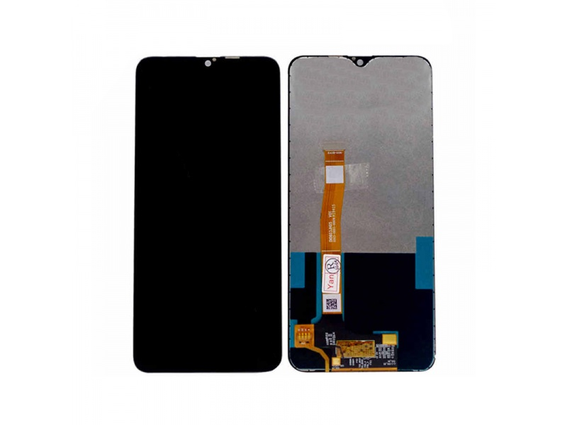LCD + dotyková deska + přední kryt pro Realme 6s, black (Service Pack)