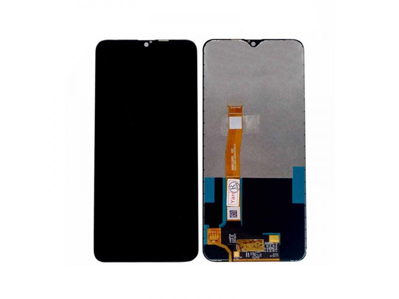 LCD + dotyková deska + přední kryt pro Realme 6, black (Service Pack)