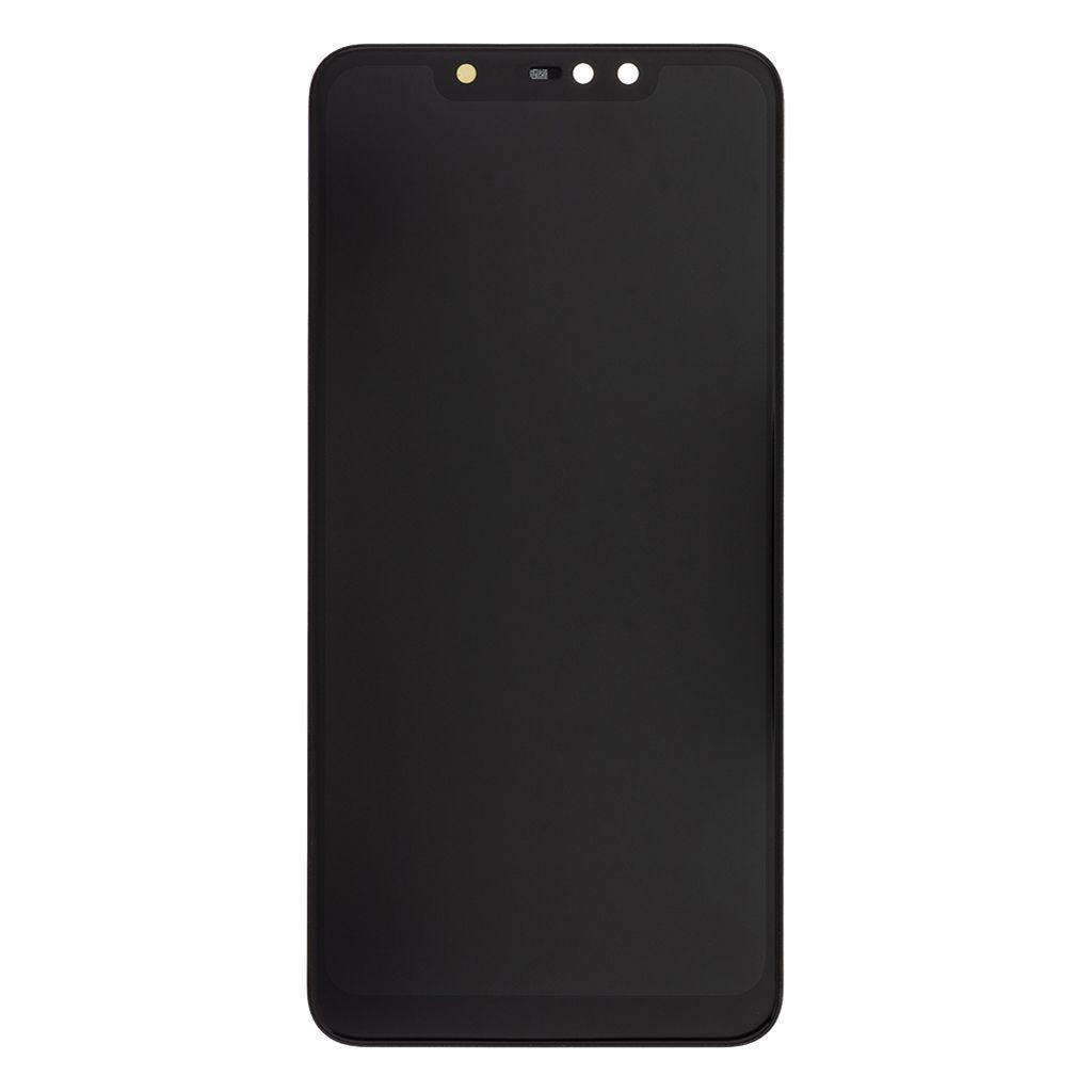 LCD + dotyková deska + přední kryt pro Xiaomi Poco F2 Pro, cyber grey (Service Pack)