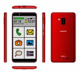 ALIGATOR S6000 SENIOR Duo 16GB červený
