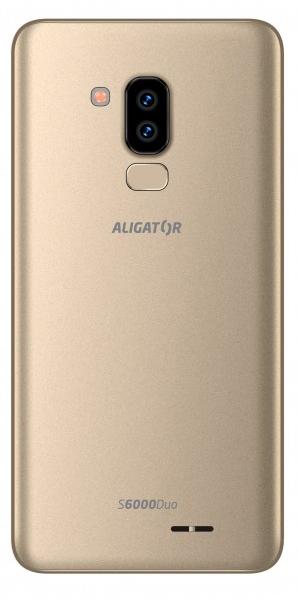 Aligator S6000 Senior Duo 1GB/16GB zlatá