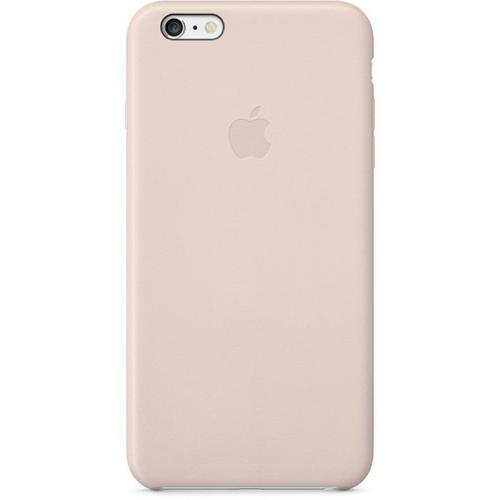 Apple Leather Cover zadní kryt MGQW2ZM/A Apple iPhone 6/6s Plus soft pink