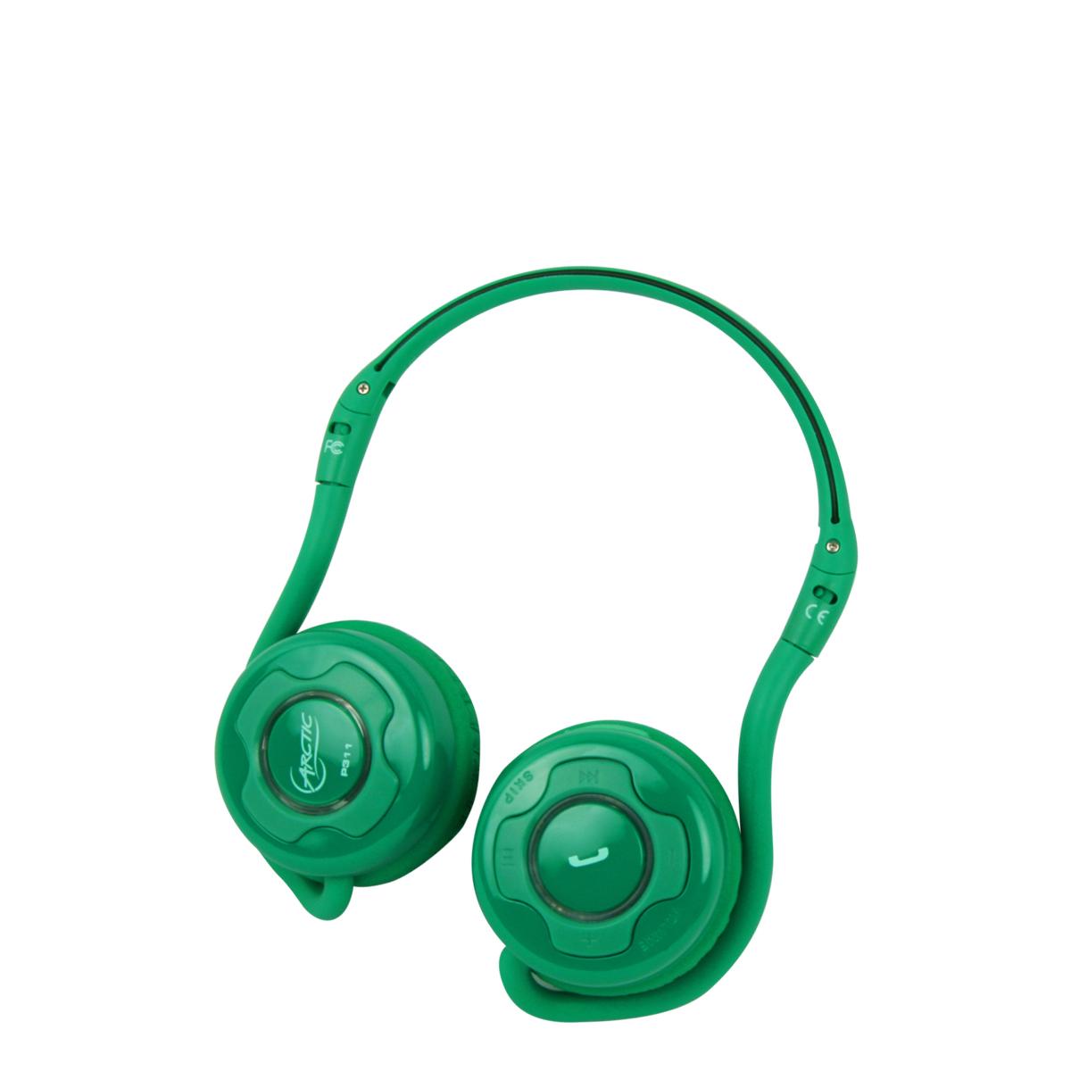 Bezdrátová sluchátka ARCTIC Sound P311, zelená