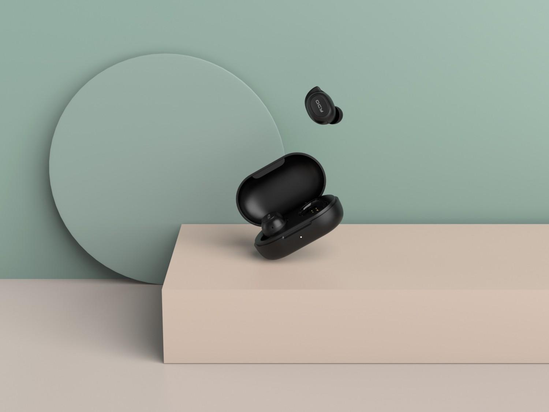 Bezdrátová sluchátka QCY T9S, černá