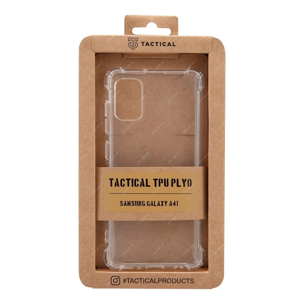 Zadní silikonový kryt Tactical Plyo pro Samsung Galaxy S20 FE, transparentní