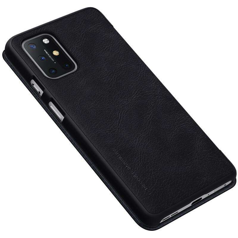 Nillkin Qin flipové pouzdro, obal, kryt pro OnePlus 8T black