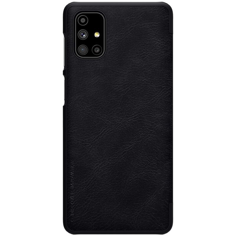 Nillkin Qin flipové pouzdro, obal, kryt pro Samsung Galaxy M51 blac