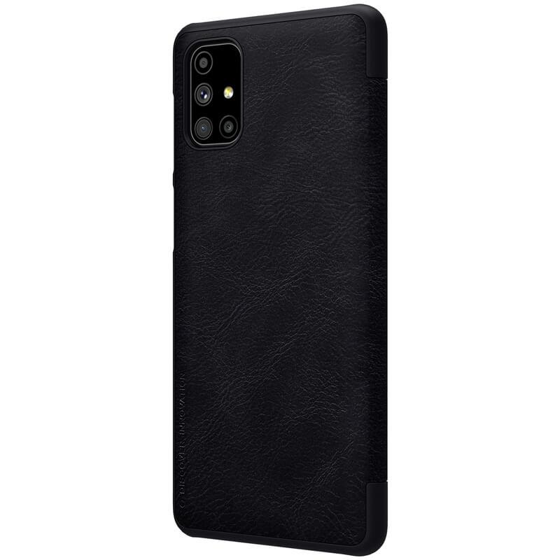 Nillkin Qin flipové pouzdro, obal, kryt pro Samsung Galaxy M51 black