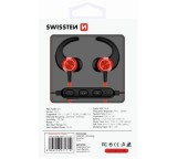 Sluchátka Bluetooth SWISSTEN ACTIVE red