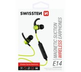 Sluchátka Bluetooth SWISSTEN ACTIVE lime