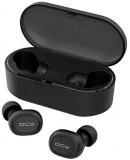 Bezdrátová sluchátka QCY T2S TWS, černá