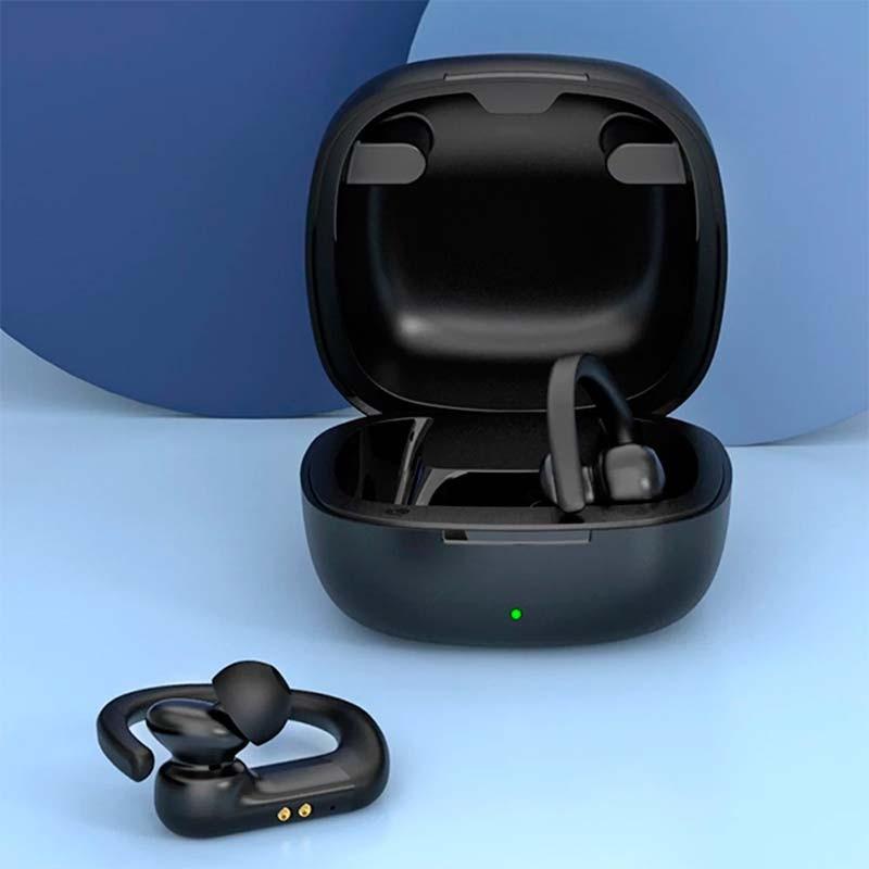 Bezdrátová sportovní sluchátka QCY T6, černá