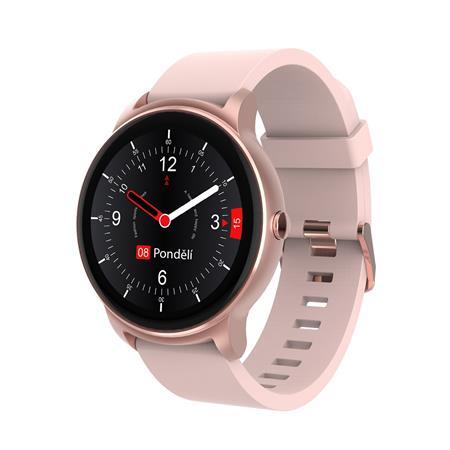 Chytré hodinky iGET FIT F60, růžovo - zlatá