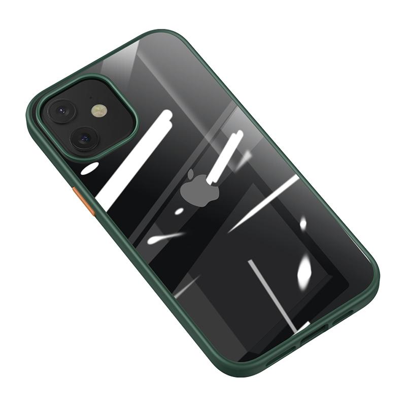 Zadní kryt, pouzdro, obal USAMS US-BH628 Janz Series Apple iPhone 12 Pro Max dark green