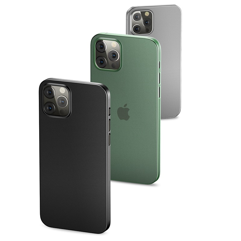 Zadní kryt, pouzdro, obal USAMS US-BH614 Gentle Series Apple iPhone 12/12 Pro black