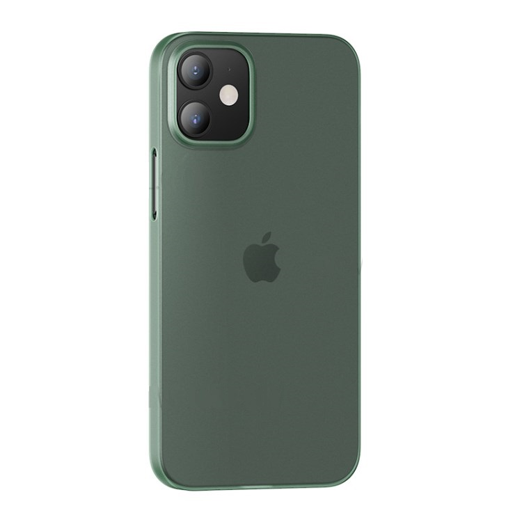 Zadní kryt, pouzdro, obal USAMS US-BH610 Gentle Series Apple iPhone 12 Pro Max transparent green