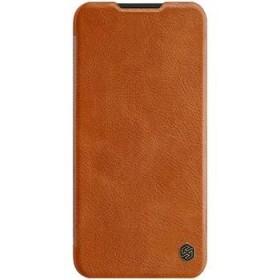 Flipové pouzdro Nillkin Qin Book pro OnePlus Nord N100, brown