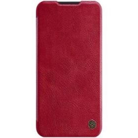 Flipové pouzdro Nillkin Qin Book pro OnePlus Nord N100, red