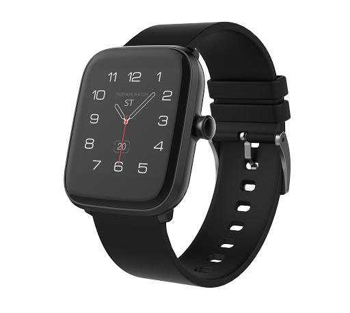 Chytré hodinky iGET FIT F25, černá