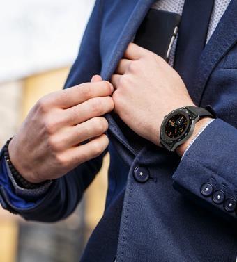 Chytré hodinky iGET Blackview GX1, černá