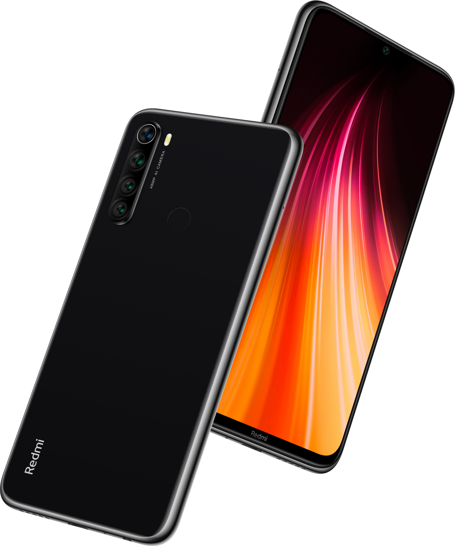 Xiaomi Redmi Note 8 4GB/128GB, černá