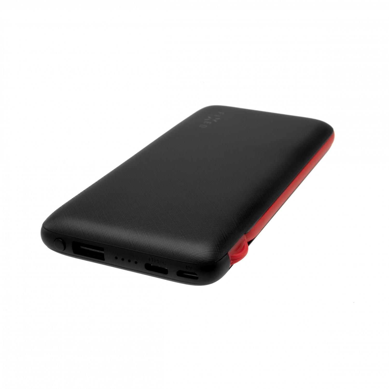 Powerbanka FIXED Zen 10 000 s kabelem microUSB/USB-C black