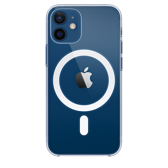 Apple zadní kryt, pouzdro, obal s MagSafe Apple iPhone 12 mini clear