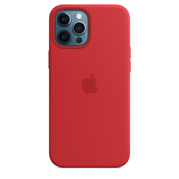 Apple silikonový kryt, pouzdro, obal s MagSafe Apple iPhone 12 Pro Max product red