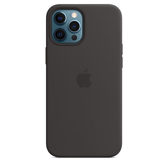 Apple silikonový kryt s MagSafe Apple iPhone 12 Pro Max black