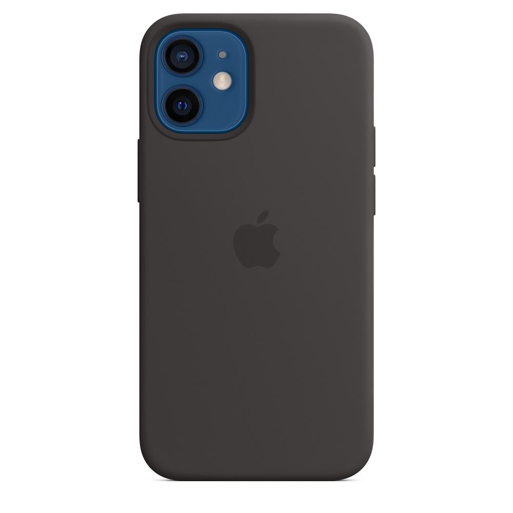 Apple silikonový kryt, pouzdro, obal s MagSafe Apple iPhone 12/12 Pro black