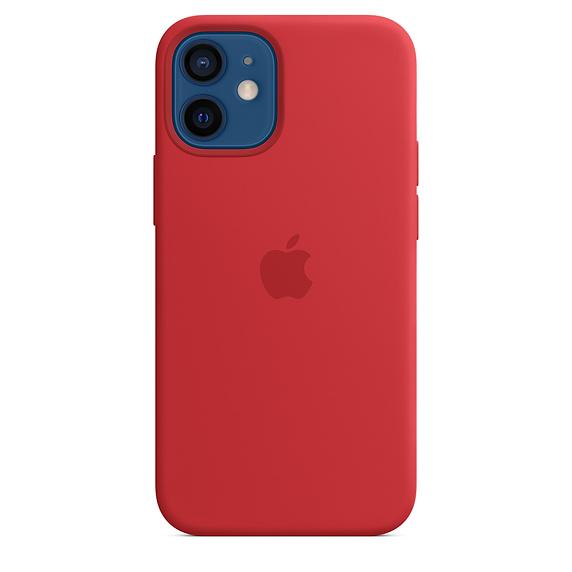 Apple silikonový kryt, pouzdro, obal s MagSafe Apple iPhone 12/12 Pro product red