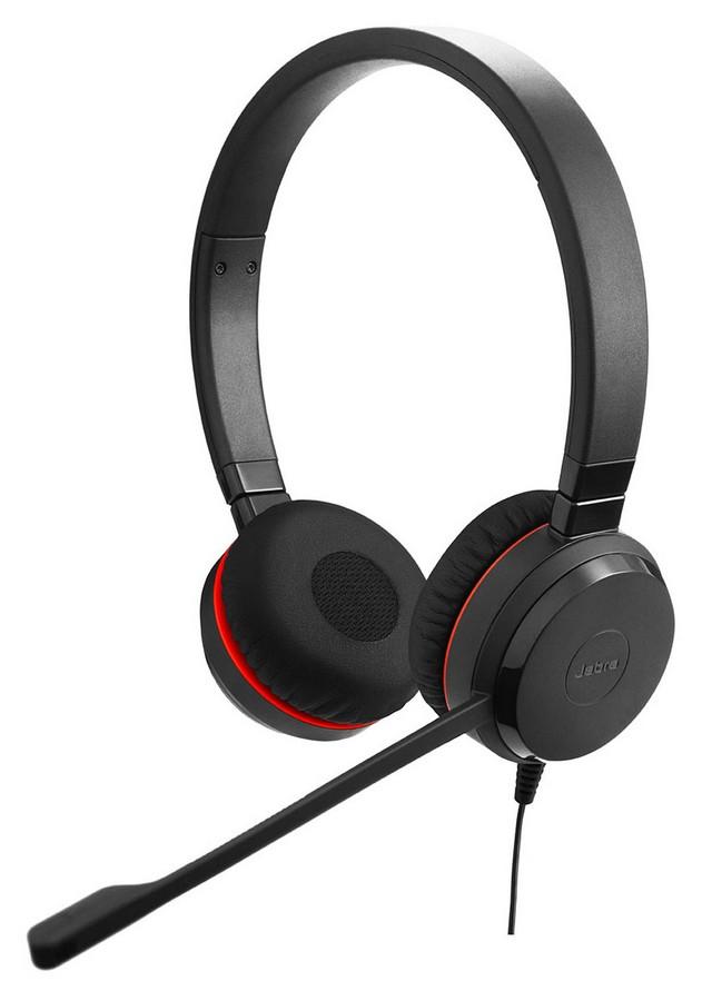 Sluchátka Jabra EVOLVE 20 profesionální stereo HF 3.5, černá
