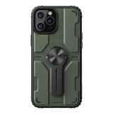 Nillkin Medley zadní kryt, pouzdro, obal Apple iPhone 12/12 Pro deep green