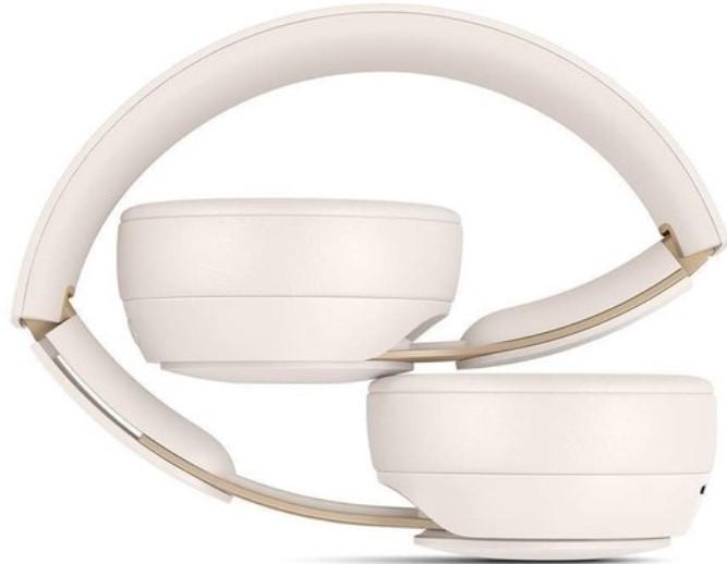 Bezdrátová sluchátka Beats Solo Pro Wireless NC, Ivory