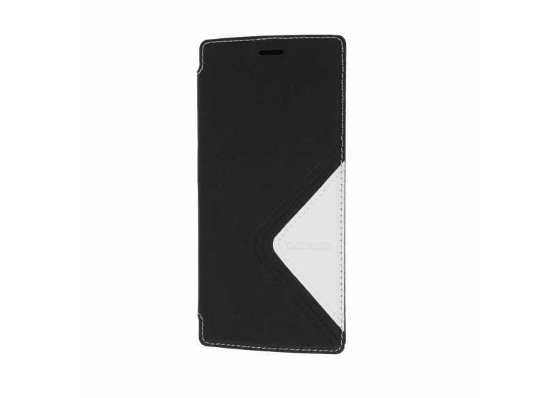 DOOGEE flipové pouzdro + tvrzené sklo pro DOOGEE X5 Max Pro, černá