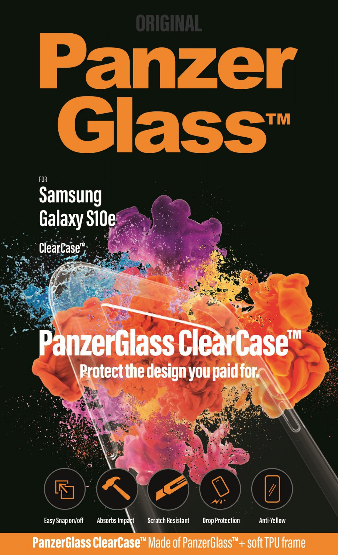 Ochranný kryt PanzerGlass ClearCase pro Samsung Galaxy S10e, čirá