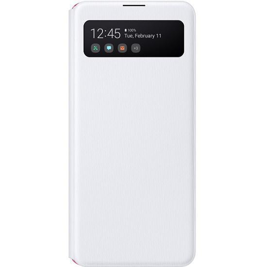 Samsung S-View flipové pouzdro, obal, kryt EF-EA426PWE Samsung Galaxy A42 white