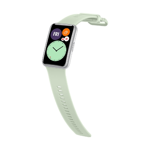Huawei silikonový řemínek Huawei Watch Fit mint green