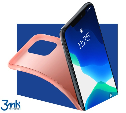 Kryt ochranný 3mk Matt Case pro Apple iPhone 7 Plus, 8 Plus, lychee/růžová