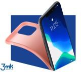 Kryt ochranný 3mk Matt Case pro Apple iPhone 12 mini, lychee/růžová