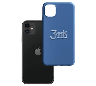 Ochranný kryt 3mk Matt Case pro Apple iPhone 12 mini, modrá