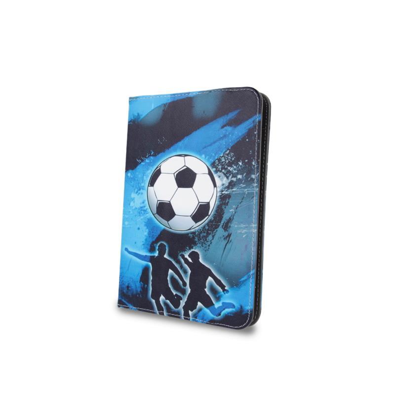 """Knížkové pouzdro Fashion Football univerzální 7-8"""""""