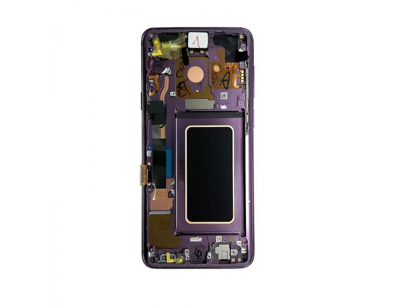 LCD + dotyk + rámeček pro Samsung Galaxy S9+, purple ( Service Pack )