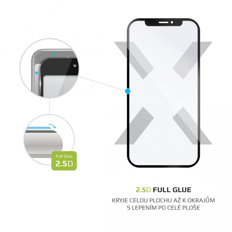 Ochranné tvrzené sklo FIXED Full-Cover pro Oppo A15, černá