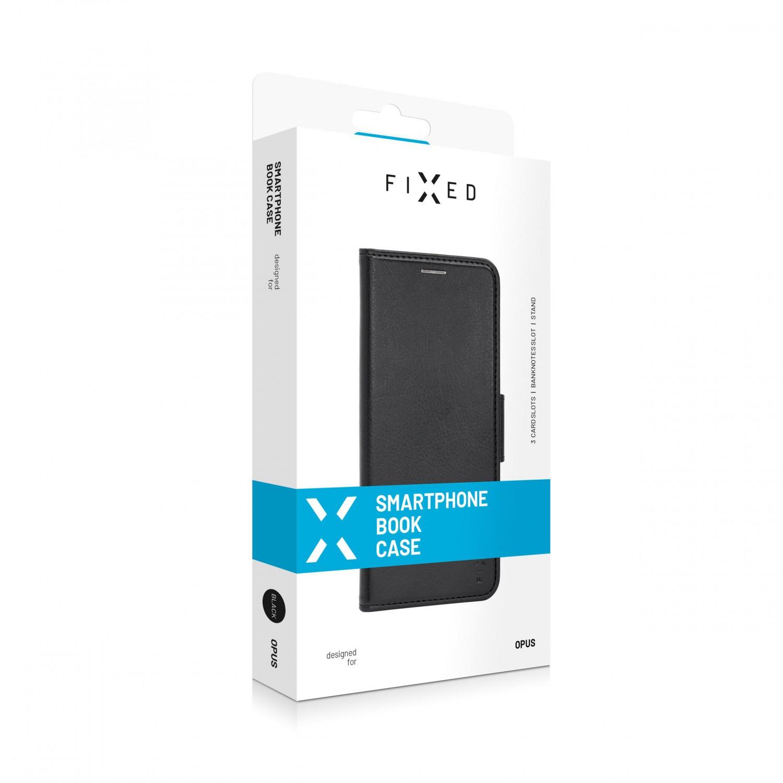 Pouzdro typu kniha FIXED Opus New Edition pro Xiaomi Mi 10T Lite, černé