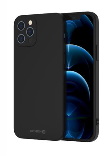Zadní kryt Swissten Soft Joy pro Apple iPhone 5/5S/SE, černá