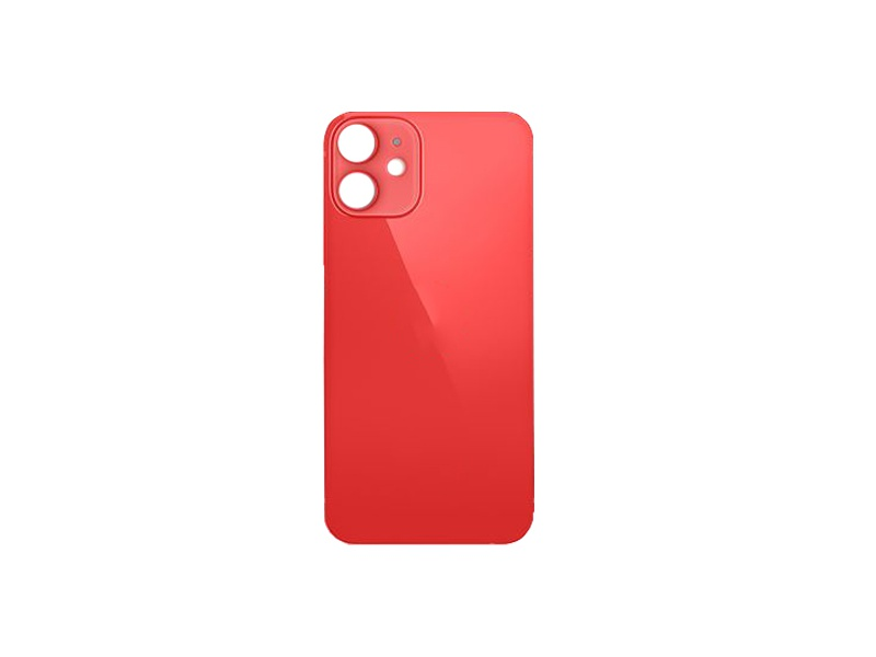 Kryt baterie Back Cover Glass pro Apple iPhone 12, červená