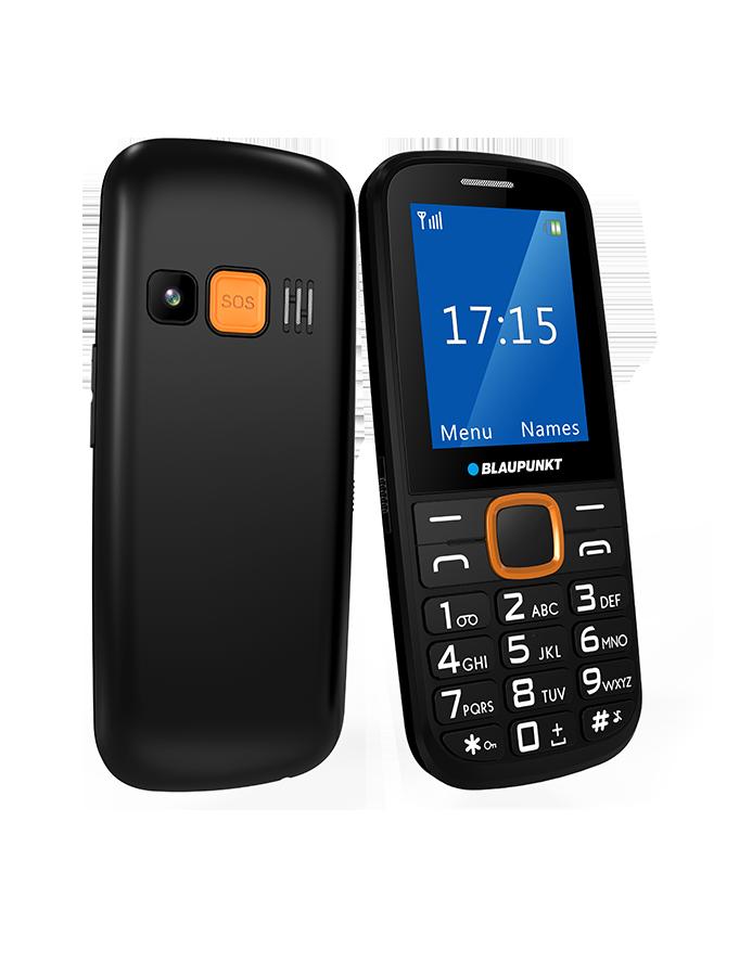 Blaupunkt BS 04 černá/oranžová