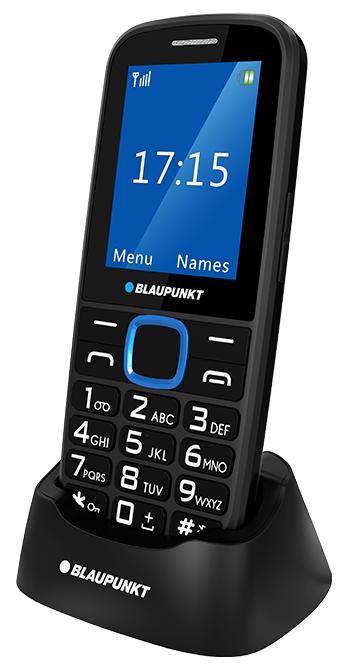 Blaupunkt BS 04 černá/modrá