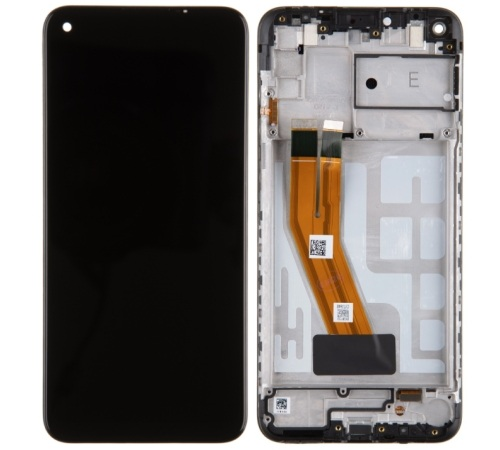 LCD + dotyk pro Samsung Galaxy M11, black ( Service Pack )